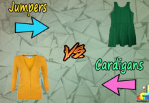 Difference Between Jumpers and Cardigans