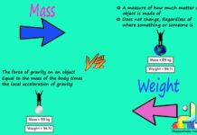 Difference Between Mass and Weight