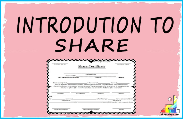 Introduction of Shares