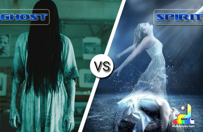 Difference Between Ghosts and Spirits