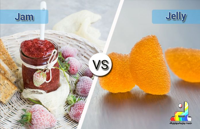 Difference Between Jam and Jelly