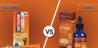 Difference Between Betadine and Iodine