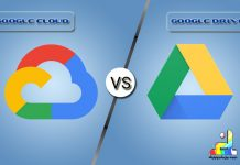 Difference Between Google Cloud and Google Drive