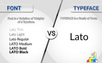 Difference Between Font and Typeface