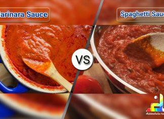 Difference Between Marinara And Spaghetti Sauce