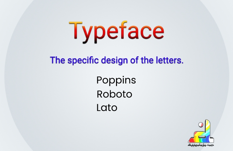 What is Typeface